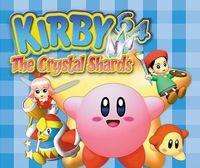 Portada oficial de Kirby 64: The Crystal Shards CV para Wii U