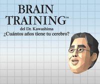 Portada oficial de Brain Training del Dr. Kawashima: ¿Cuántos años tiene tu cerebro? CV para Wii U
