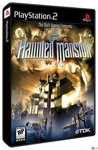 Portada oficial de The Haunted Mansion para PS2