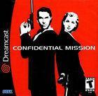 Portada oficial de de Confidential Mission para Dreamcast
