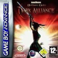 Portada oficial de Baldur's Gate : Dark Alliance para Game Boy Advance