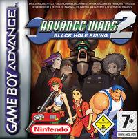 Portada oficial de Advance Wars 2: Black Hole Rising CV para Wii U