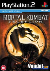 Portada oficial de Mortal Kombat: Deception para PS2