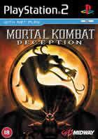 Portada oficial de de Mortal Kombat: Deception para PS2