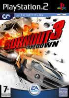 Portada oficial de de Burnout 3 Takedown para PS2