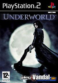 Portada oficial de UnderWorld para PS2