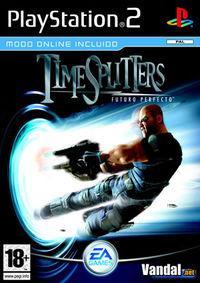 Portada oficial de TimeSplitters Futuro Perfecto para PS2