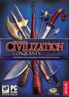 Portada oficial de de Civilization 3: Conquests para PC