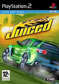 Portada oficial de Juiced para PS2