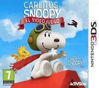 Portada oficial de Carlitos y Snoopy: El videojuego para Nintendo 3DS
