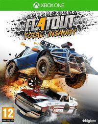 Portada oficial de FlatOut 4: Total Insanity para Xbox One