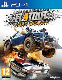 Portada oficial de FlatOut 4: Total Insanity para PS4