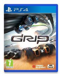 Portada oficial de GRIP: Combat Racing para PS4