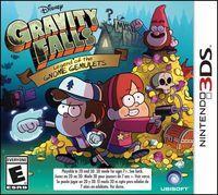 Portada oficial de Gravity Falls: Legend of the Gnome Gemulets para Nintendo 3DS