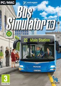 Portada oficial de Bus Simulator 16 para PC