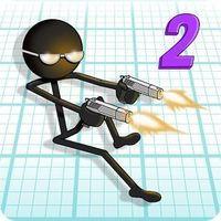 Portada oficial de Gun Fu: Stickman 2 para Android