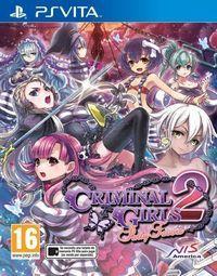 Portada oficial de Criminal Girls 2: Party Favors para PSVITA