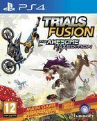 Portada oficial de de Trials Fusion: The Awesome Max Edition para PS4