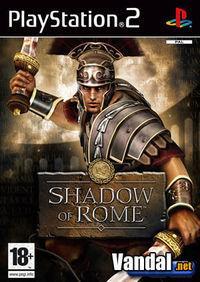 Portada oficial de Shadow of Rome para PS2