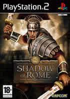 Portada oficial de de Shadow of Rome para PS2