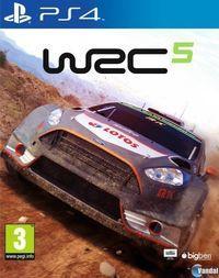 Portada oficial de WRC 5 para PS4