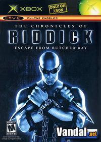 Portada oficial de The Chronicles of Riddick para Xbox