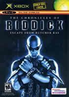 Portada oficial de de The Chronicles of Riddick para Xbox
