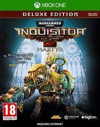 Portada oficial de Warhammer 40.000: Inquisitor - Martyr para Xbox One