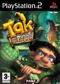 Portada oficial de Tak y el Poder Juju para PS2
