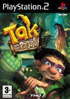 Portada oficial de de Tak y el Poder Juju para PS2