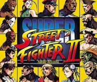 Portada oficial de Super Street Fighter II Turbo Revival CV para Wii U