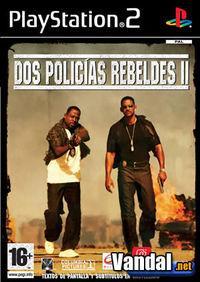 Portada oficial de Dos Policías Rebeldes 2 para PS2