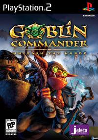 Portada oficial de Goblin Commander: Unleash the Horde para PS2
