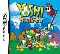 Portada oficial de Yoshi Touch & Go CV para Wii U