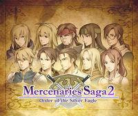 Portada oficial de Mercenaries Saga 2 eShop para Nintendo 3DS
