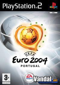 Portada oficial de Euro 2004 para PS2