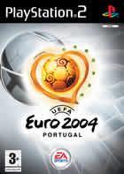 Portada oficial de de Euro 2004 para PS2