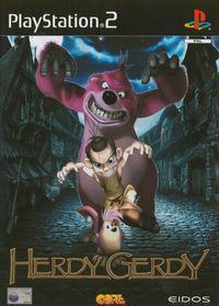 Portada oficial de Herdy Gerdy para PS2