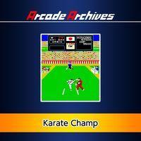 Portada oficial de Arcade Archives: Karate Champ para PS4
