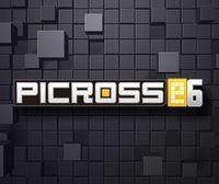 Portada oficial de Picross e6 eShop para Nintendo 3DS