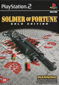 Portada oficial de Soldier of Fortune para PS2