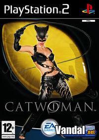 Portada oficial de Catwoman para PS2