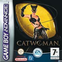 Portada oficial de Catwoman para Game Boy Advance