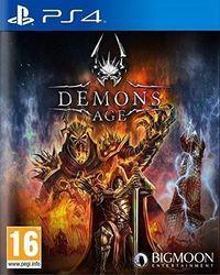 Portada oficial de Demons Age para PS4