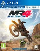 Portada oficial de de Moto Racer 4 para PS4