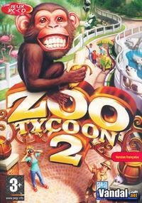 Portada oficial de Zoo Tycoon 2 para PC