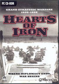Portada oficial de Hearts of Iron para PC