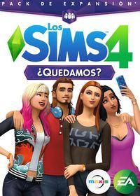 Portada oficial de Los Sims 4: ¿Quedamos? para PC