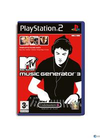 Portada oficial de MTV Music Generator 3 para PS2