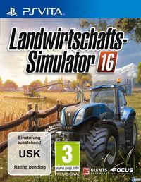 Portada oficial de Farming Simulator 16 para PSVITA